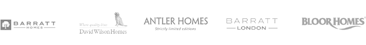 Barratt Homes, David Wilson Homes, Whelan Homes, Barratt London, Rydon